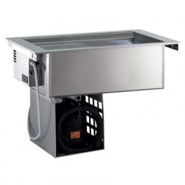 Rustfri drop-in ventileret kølebrønd, 3GN