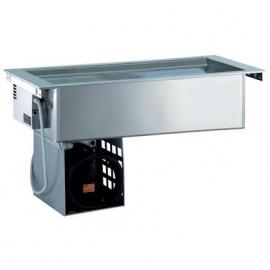 Rustfri drop-in ventileret kølebrønd, 4GN