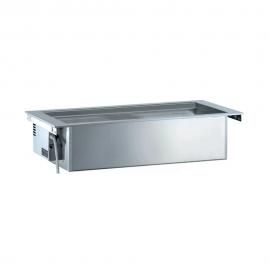 Rustfri drop-in ventileret kølebrønd, 4GN, ekskl kompressor