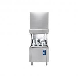 Rustfri grovopvaskemaskine, front-/sidebetjent, L833mm
