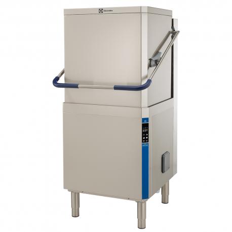 Rustfri hætteopvaskemaskine, Isoleret hætte, Afsp-/sæbe-/afløbspumpe