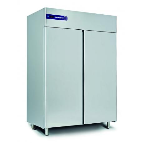 Rustfrit dobbelt køleskab 1355L