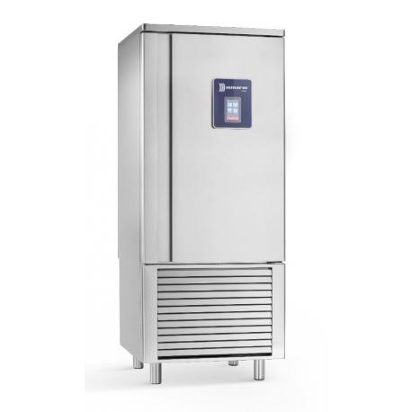 Rustfri blæstkøler, 16 GN1/1 - EN600x400mm, ekstra kraftig kompressor, Semi hermetic