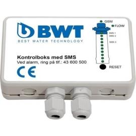 Komplet SMS-boks, inkl Impulstæller til vandbehandlingsanlæg