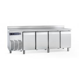 Samaref frysedisk 4 døre, topplade, bagkant, 538L, ekstra fordamper